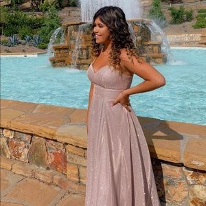 Sparkly princess prom dress!